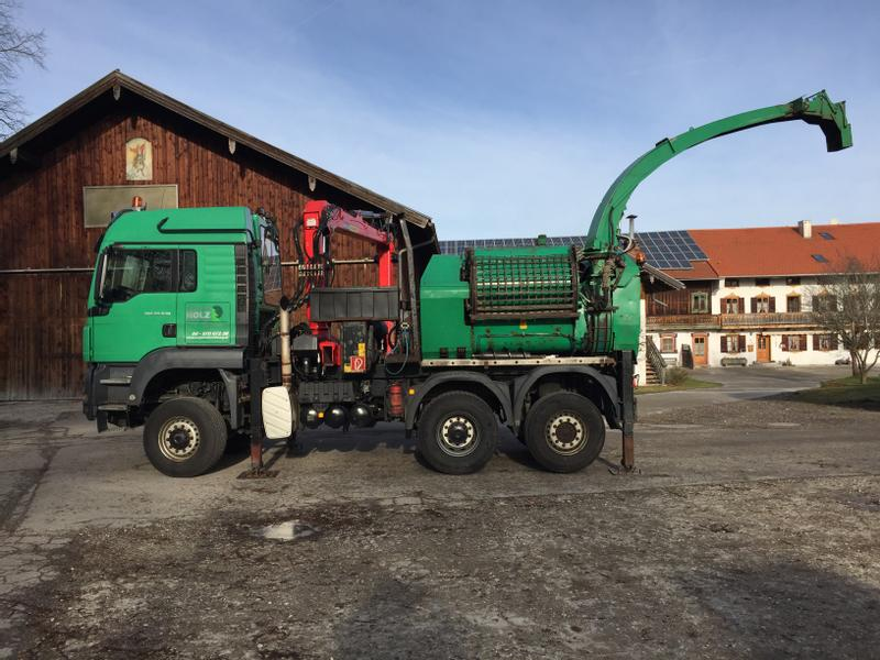 Jenz Chippertruck HEM 582 R