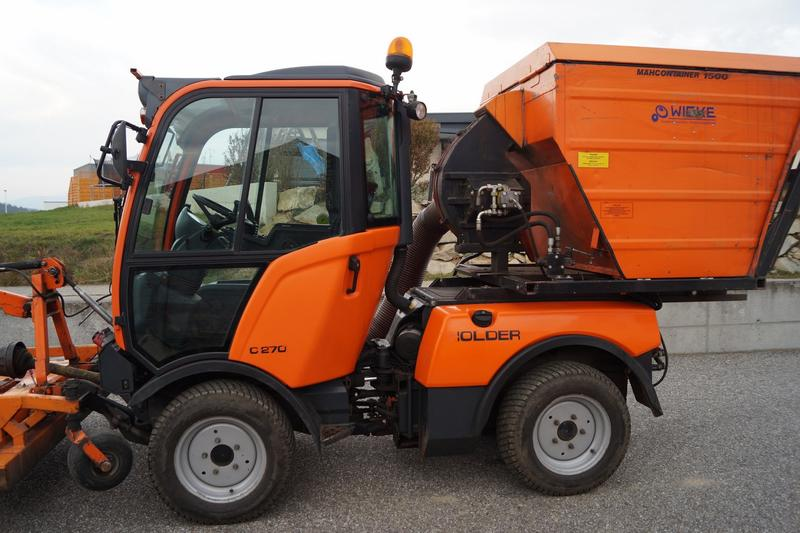 Holder C270 Traktor Schlepper Winterdienst Kubota Carraro TOP