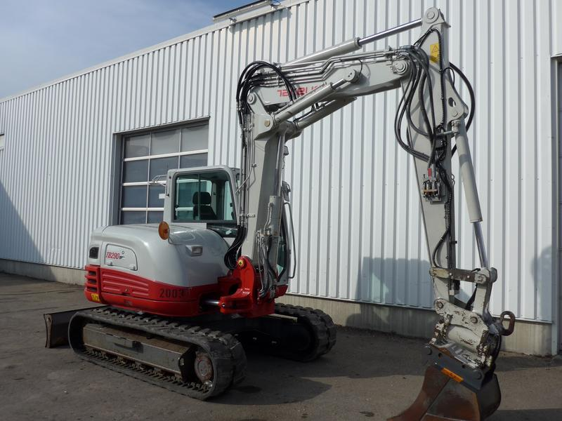 Takeuchi TB 290 CV V4 Verstellausl. 3520h Powertilt HS08