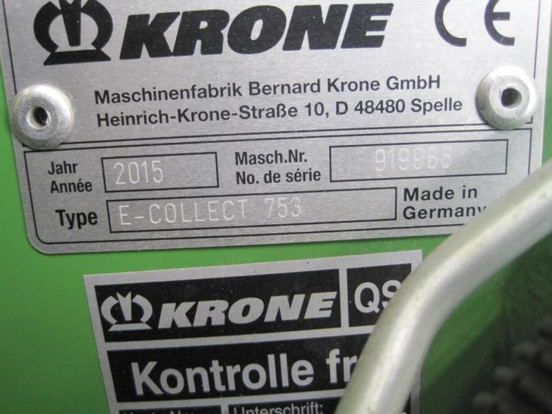 Krone EASY COLLECT 753