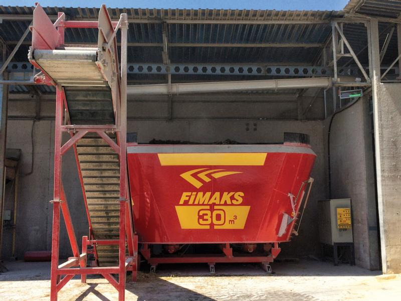 Fimaks Stationäre Futtermisch30m3/Stationary Mixer Feeder FMVS 30m3