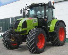 Claas Arion 520 mit GPS Pilot