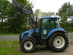 New Holland T 4 . 55 Powerstar