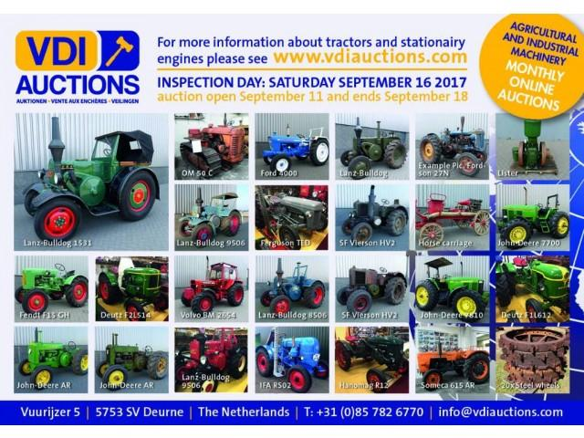 Lanz Classic tractor Auction