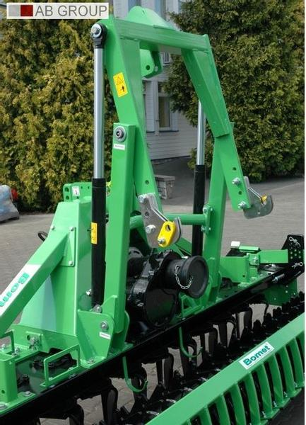 Bomet Kreiseleggen 3m /Power harrow 3m with Packer roller