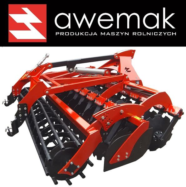 AWEMAK AT27 Disc harrow with hydrolift