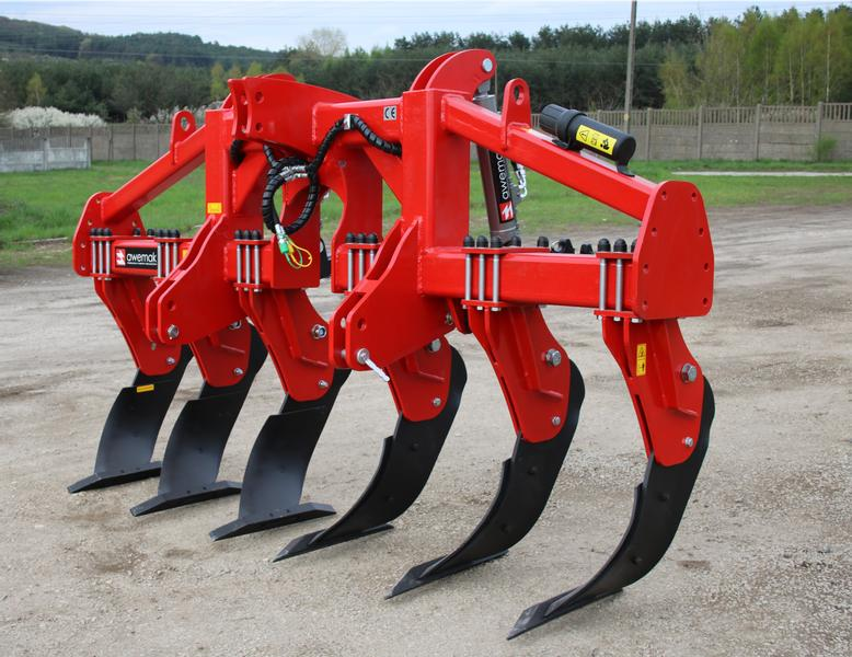 "AWEMAK GB30.4 MAMUT Single-beam Subsoiler ""ATYLA"" tines"