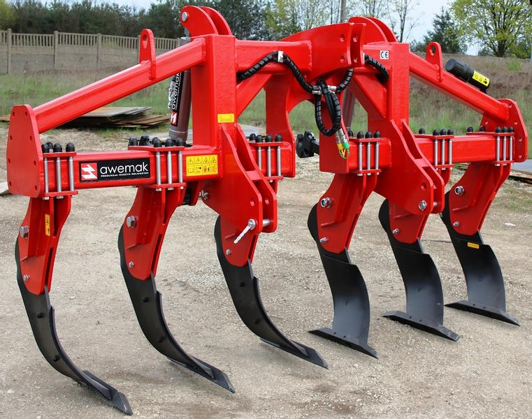 "AWEMAK GB40.8 Single-beam Subsoiler 8 ""MICHEL"" tines"