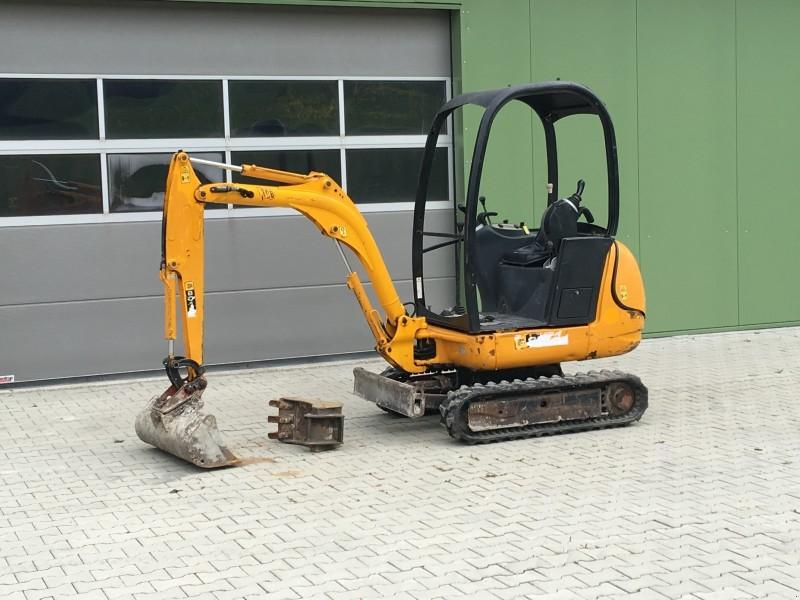 JCB 8018,1,5to, 1.890Std.