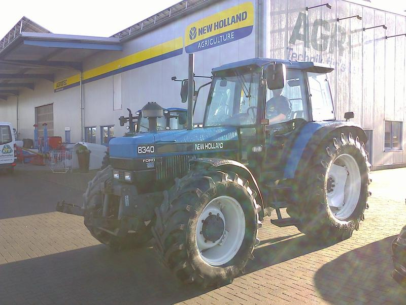 New Holland 8340 SLE Tubo