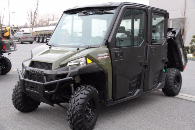 Polaris QUAD 4x4 CREW DIESEL RANGER 6 PERSON NEW!