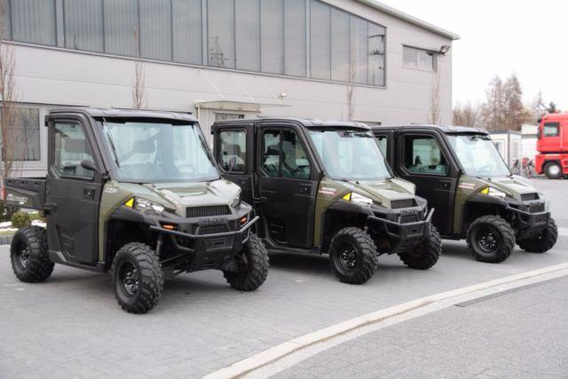 Polaris QUAD 4x4 CREW DIESEL RANGER 3 UNITS!