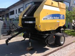 New Holland Rundballen Presse BR 750 A