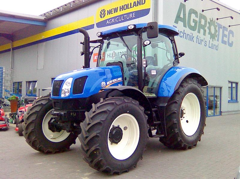 New Holland T6.120 Eco gefederte Vorderachse