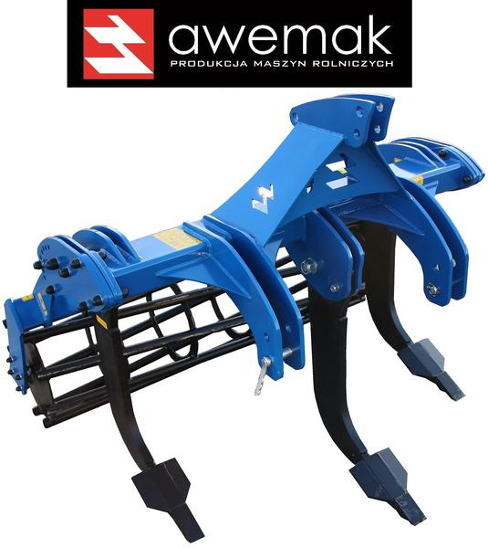 AWEMAK GMR5 Subsoiler with 5 pcs of STRAIGHT tines