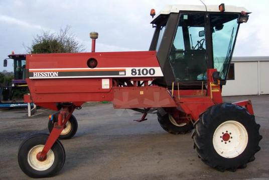 Sonstige used swather hesston 8100 d'occasion