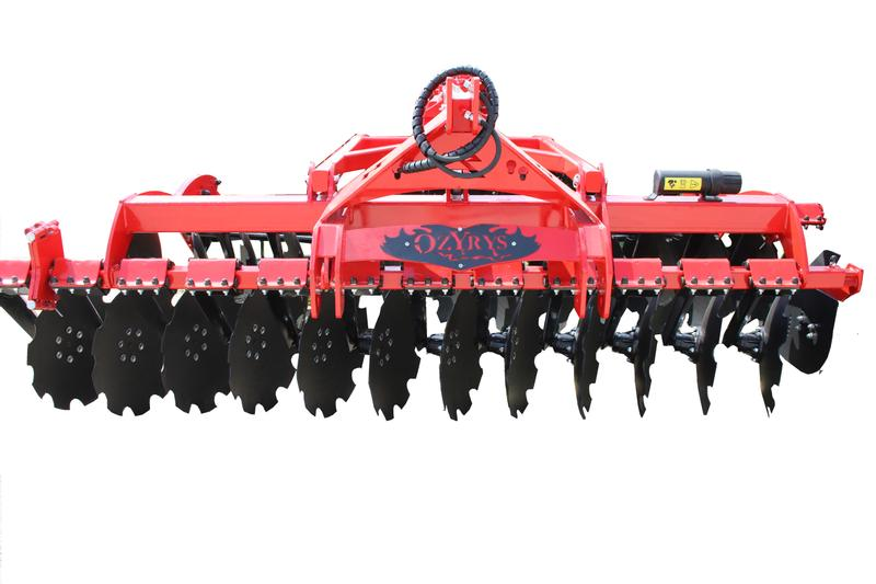 AWEMAK BT40 Disc Harrow with rubber protection/Scheibenegge 560 mm