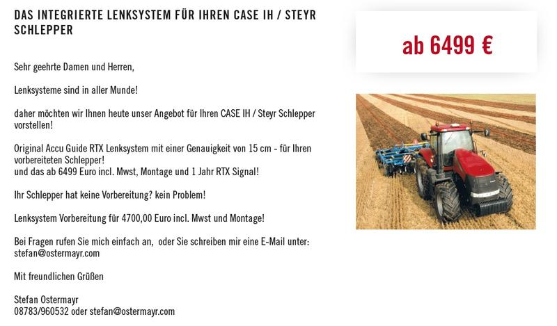 Case IH Accu Guide RTX