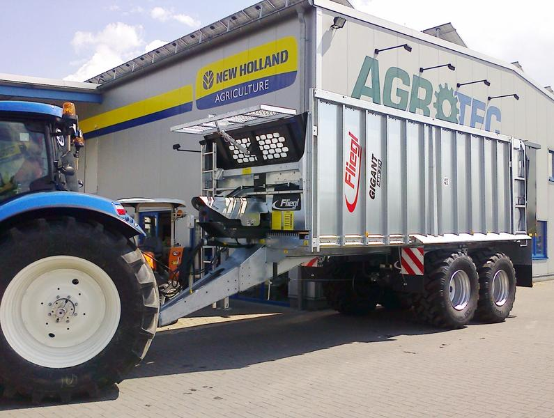Fliegl ASW 271 Compact  mit Lenkachse