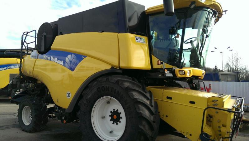 New Holland CR 9080 Elevation, 1250 Mh, Vario 9,15m, Bj. 09