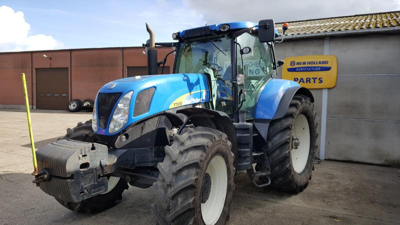 New Holland T7030 Powercommand