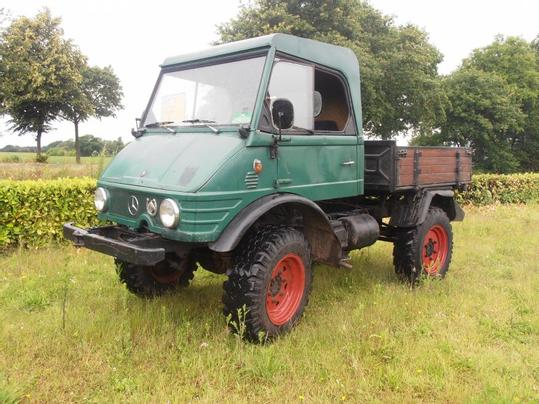 Unimog 411 Gebraucht >> Mercedes-Benz Traktor gebraucht kaufen und verkaufen - traktorpool.de