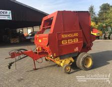 New Holland Rundballenpresse 658