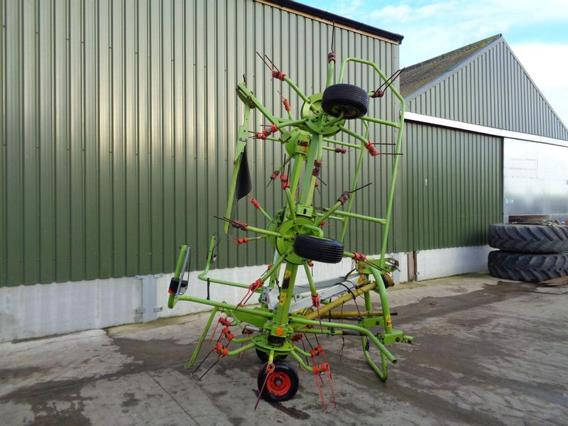 Claas Volto 670 6 Rotor Tedder
