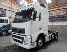 Volvo FH GLOBETROTTER XL 500 EURO 5, 6 X 2 TRACTOR - 2012 - GK62 VKA