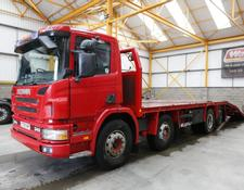 Scania 114G 340 8 X 2 BEAVERTAIL/PLANT FLATBED - 2001 - Y379 YAP