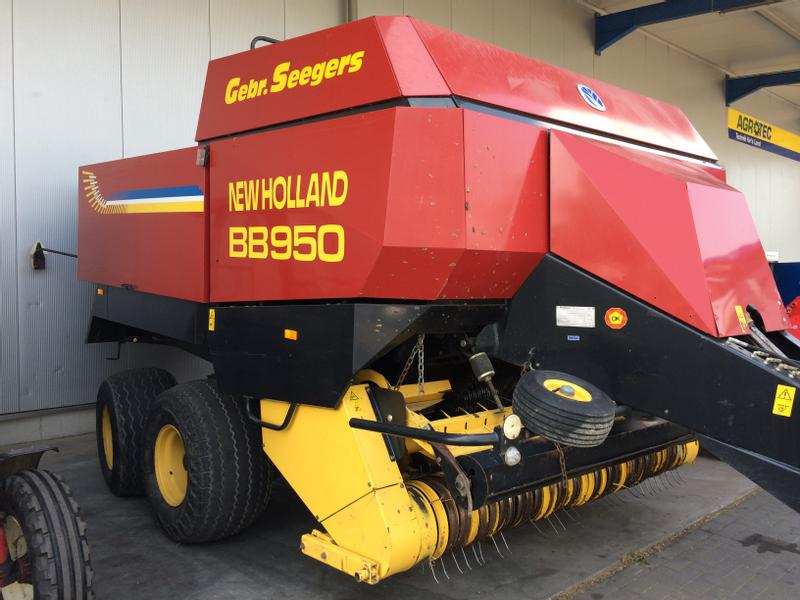 New Holland BB950 Quarderballenpresse