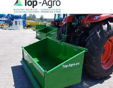 TOP-AGRO Transportbox Premium 1,8 Meter mechanisch Kippmulde, Heckcontainer