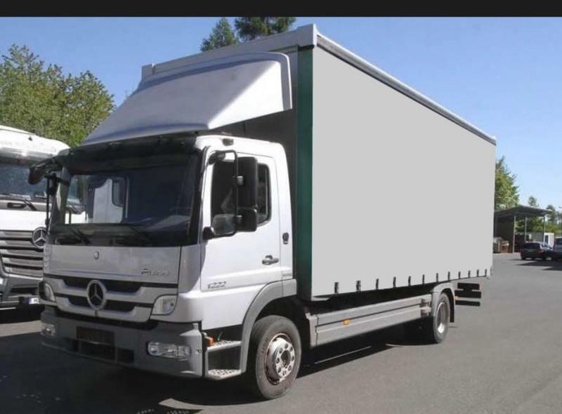 Mercedes-Benz ATEGO 1222 CURTAIN TARPAULIN