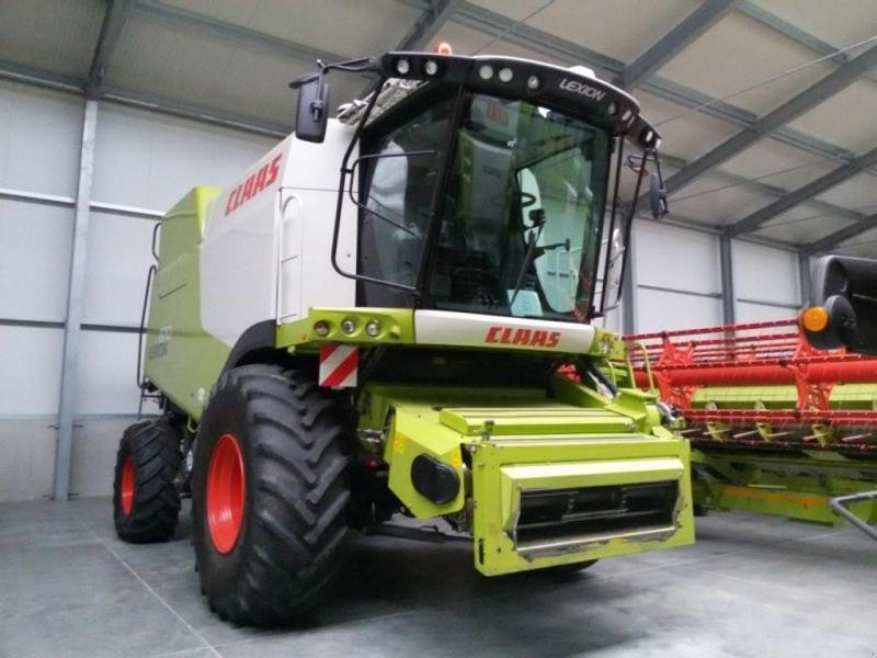 Claas Lexion 670, 30 km/h, V770 Laserpilot, GPS-Ready