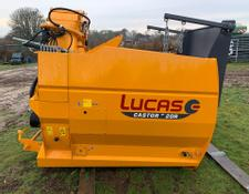 Lucas Castor 20 R mounted Bale Feeder & Straw Blower 11024378 (JA)