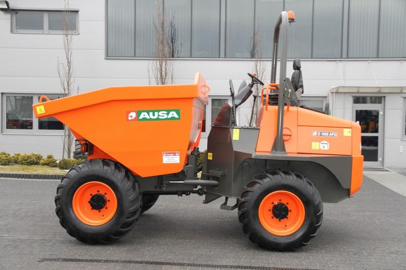 Ausa SWIVEL TIP SITE DUMPER D 1000 APG 4x4 NEW