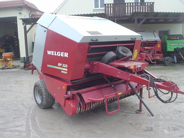 Welger RP 320 Rotorcut