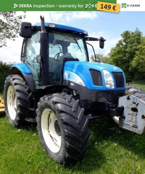 New Holland TS100A