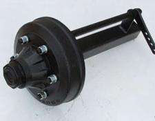 ADR NEW 70mm ADR Braked Stub Axle, 6 stud,
