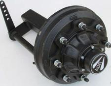ADR NEW 80mm ADR Braked Stub Axle, 8 stud,