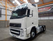 Volvo FH GLOBETROTTER XL 500 EURO 5, 6 X 2 TRACTOR - 2012 - GK62 VKB