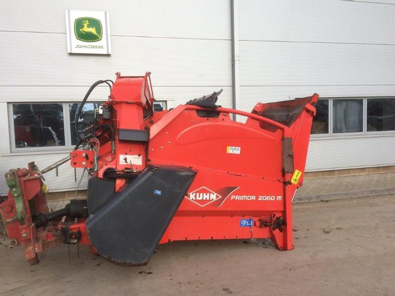 Kuhn 2060M PRIMOR Bale Shredder/Feeder