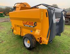 Lucas Castor 30 Trailed Bale Feeder & Straw Blower 11024377 (JA)