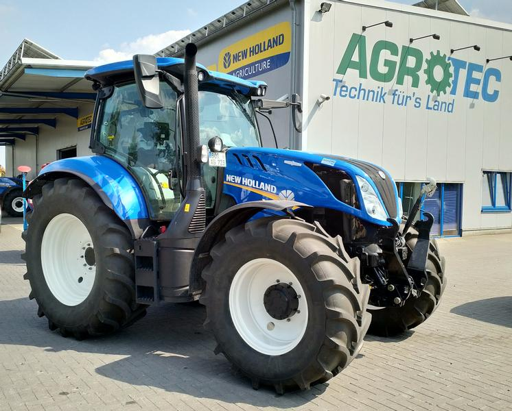 New Holland T6.145 AC gefederte Vorderachse