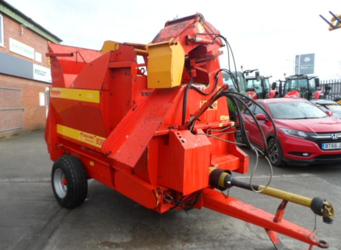 Teagle 8080 Straw and Silage Feeder Bedder