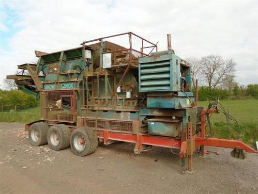 Brown  Lennox Mobile Crusher For Sale