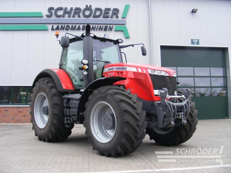 Massey Ferguson 8727 Exclusive Dyna-VT