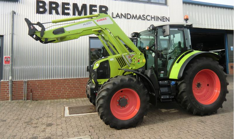 Claas ARION 460 CIS+, Panoramic-Plus-Ausstattung, mit Frontlader