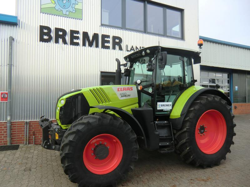 Claas ARION 650 CMATIC, Businesspaket II