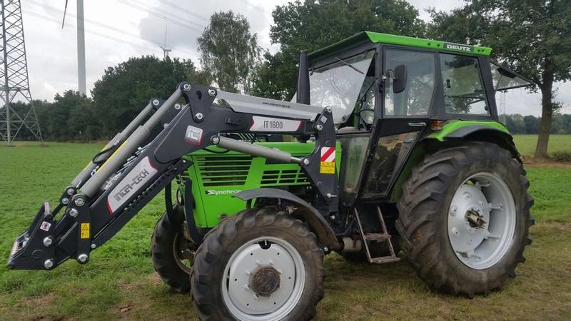 Aloe frontlader fuer mf traktoren ab werk